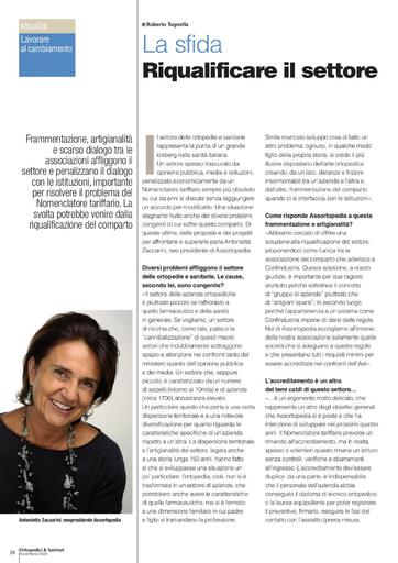 15 novembre 2009 Ortopedici & Sanitari